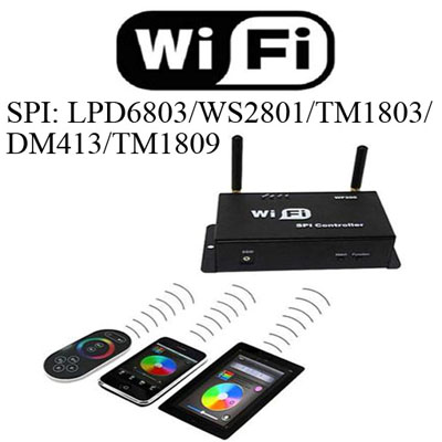 WIFI WF300 IOS/Android SPI LED controller