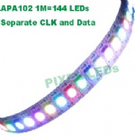 DC5v 144 LEDs APA102 LED strip