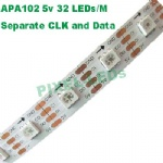 DC5v 32 LEDs APA102 LED strip
