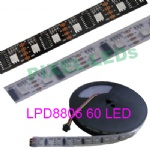 5V 60 LEDs/m LPD8806 pixel LED strip
