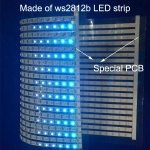 DIY ws2812b pixel RGB LED display screen