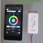 SP105E ws2812b RGBW bluetooth pixel LED controller