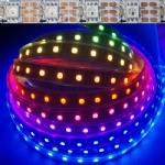 DC 5v 60 LEDs/m ws2812b pixels LED strip lights