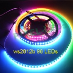 DC5v 96 LEDs/m ws2812b addressable LED strip